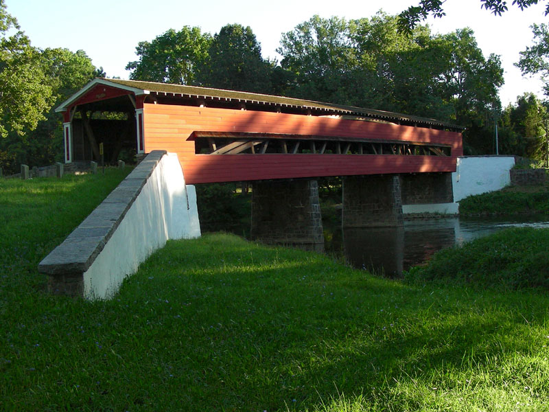Smith's Bridge, August 2007