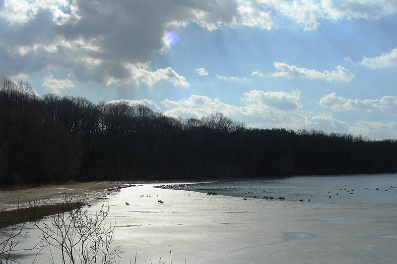 Hoopes reservoir, February 2009