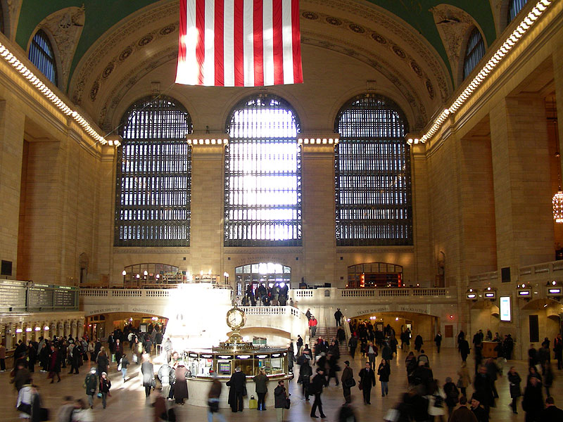Grand Central Terminal, February 2009