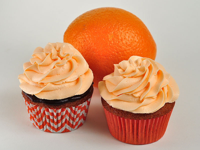 Orange with chocolate ganache or orange filling<br>April 11