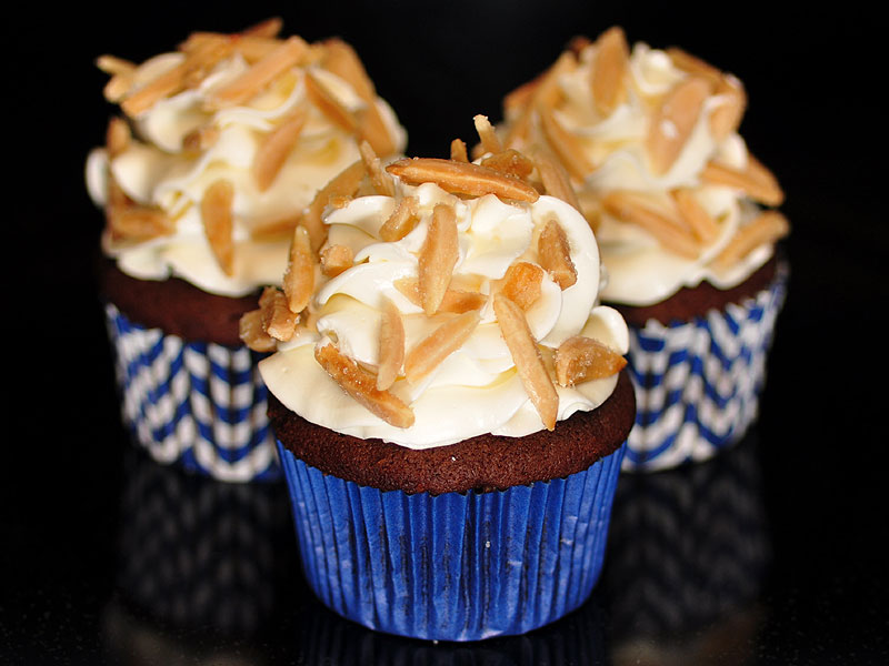 Chocolate with almond buttercream<br>May 23