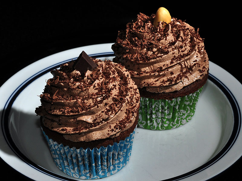 Chocolate with chocolate or peanut butter filling<br>November 4