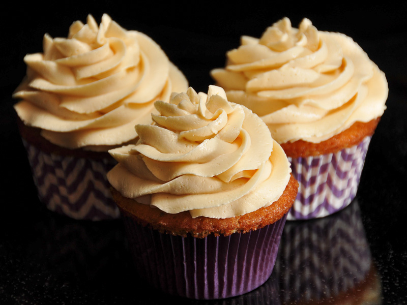 Black walnut with orange filling & frosting<br>February 7