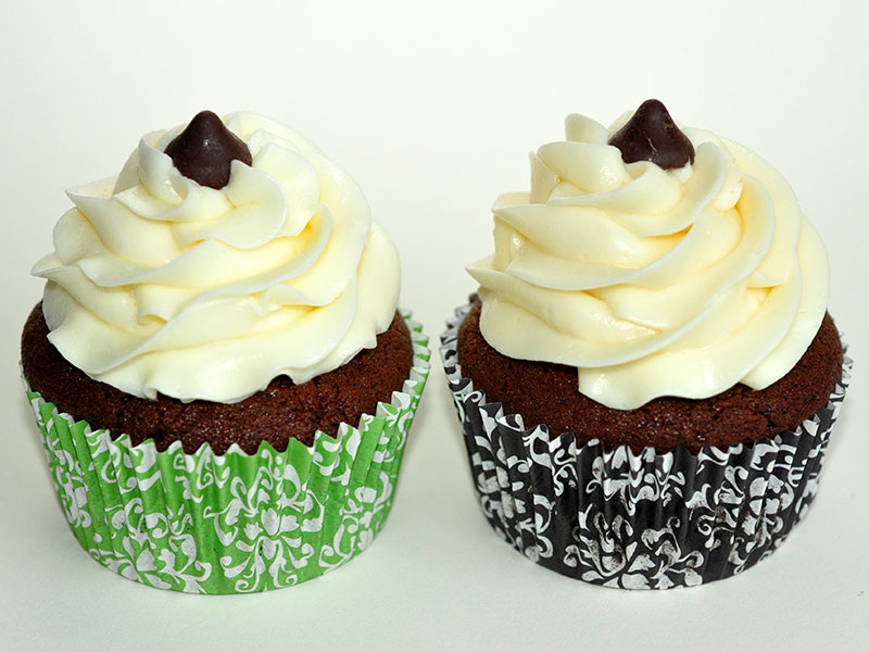 Chocolate with mint &amp; cherry chips<br>October 17